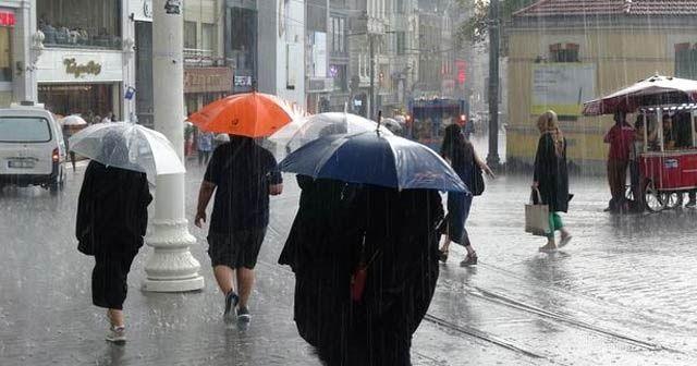 Meteoroloji'den uyarı: Birçok ilde yağışlar sürecek