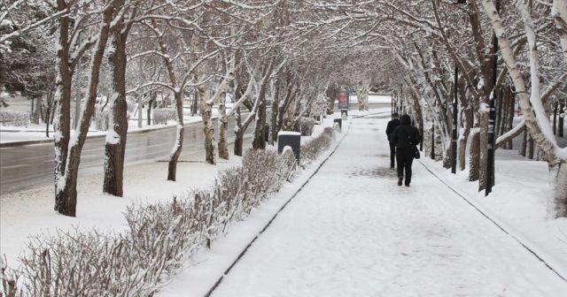 Meteoroloji uyardı! Doğu Anadolu'da kar yağışı etkili olacak