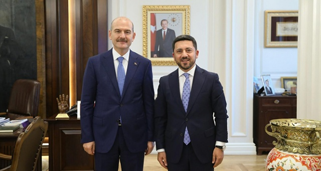 Nevşehir Belediye Başkanı Arı, Ankara'da bir dizi ziyarette bulundu