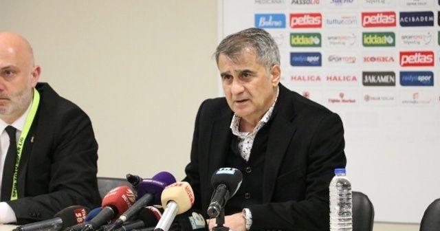 Şenol Güneş: Beşiktaş'tan ayrılmanın bir hüznünü yaşayacağım