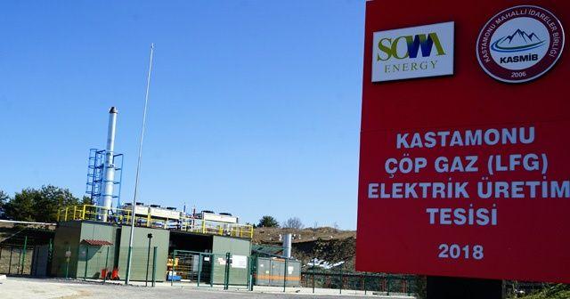 Türkiye'nin en temiz şehrinden toplanan çöpler, elektrik enerjisine dönüştürülüyor