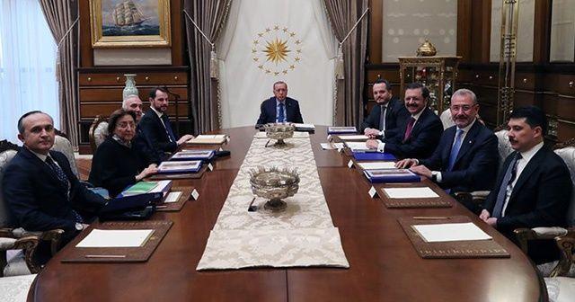 Türkiye Varlık Fonu Yönetim Kurulu Külliye'de toplandı