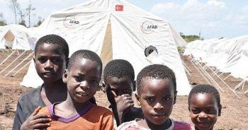 AFAD'dan Mozambik'e çadır kent