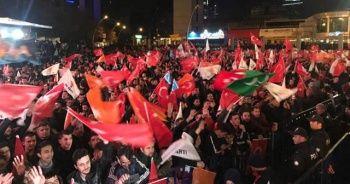 AK Parti'de coşkulu kutlama