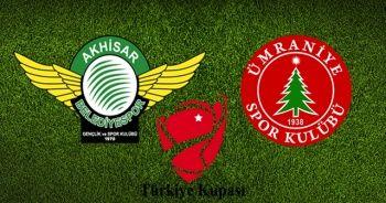 Akhisarspor - Ümraniyespor maçı canlı izle! Akhisar Ümraniye maçı skor kaç kaç? A Spor şifresiz canlı izle