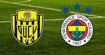 Ankaragücü Fenerbahçe maçı canlı izle! Ankaragücü FB maçı kaç kaç? Ankaragücü FB Maçı Beinsports1 Canlı İzle