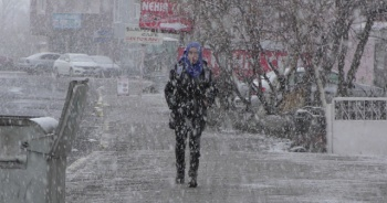 Ardahan'da yoğun kar yağışı ve tipi: Araçlar yolda mahsur kaldı
