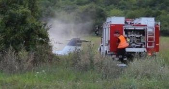 Bulgaristan'da uçak düştü: Ölüler var