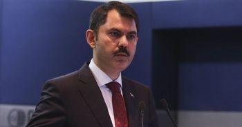 Çevre ve Şehircilik Bakanı Kurum: 50 bin sosyal konut için başvuru sayısı 587 bine ulaştı