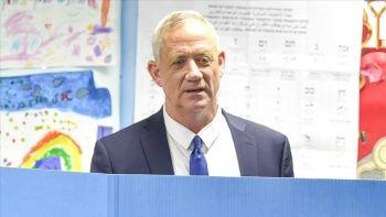 Eski İsrail Genelkurmay Başkanı Gantz'dan seçim yenilgisi itirafı