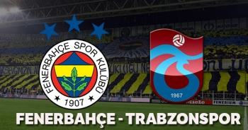 Fenerbahçe Trabzonspor Maçı özeti golleri İZLE! Fenerbahçe Trabzonspor maçı kaç kaç bitti? FB TS maç özeti golleri