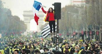 Fransa'da Sarı Yelekliler'e gösteri yasağı