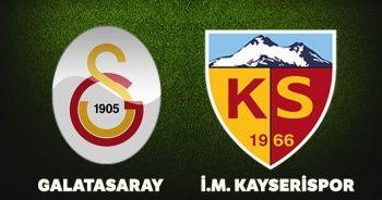 Galatasaray Kayserispor maç özeti izle! Galatasaray Kayserispor Maçı kaç kaç bitti?
