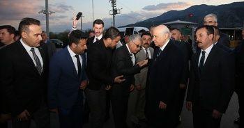 MHP Genel Başkanı Bahçeli Antalya'da