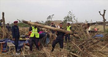 Nepal'de şiddetli fırtınada ölü sayısı artıyor