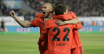 Beşiktaş Rize'de gol oldu yağdı