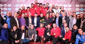 Serbest Güreş Milli Takımı, Avrupa ikincisi oldu