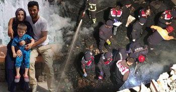 Sinop'ta 3 kişinin öldüğü belirtilen yangında 2 kişinin cesedi kayıp