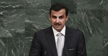 TBMM Başkanı Katar Emiri ile görüştü