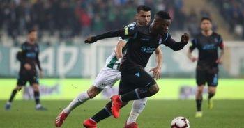Trabzonspor Bursaspor'u 1-0 mağlup etti
