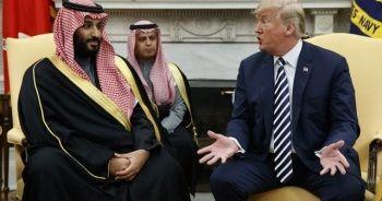 Trump, Suudi Veliaht Prens'le görüştü