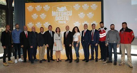 'Motorcu Dostu Trafik' projesinin 2'nci etabı başlıyor