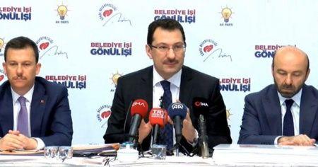 AK Parti Genel Başkan Yardımcısı Ali İhsan Yavuz açıklama yaptı