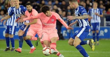 Barcelona ikinci yarıda açıldı