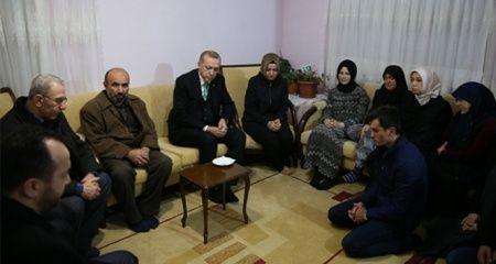 Cumhurbaşkanı Erdoğan'dan Kılıçdaroğlu'na: Ben bile şehit evine gitmeden soruyorum
