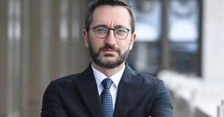 """Cumhurbaşkanlığı İletişim Başkanı Altun'dan """"Notre Dame"""" mesajı"""