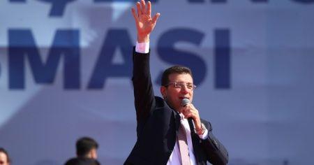 Ekrem Imamoğlu Maltepe'deki mitingde konuştu