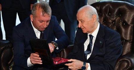 MHP Lideri Bahçeli'ye özel tesbih!