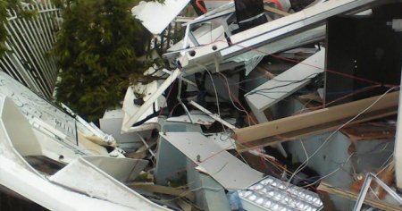 Mozambik'i Idai'den sonra Kenneth Kasırgası vurdu