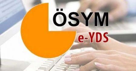 ÖSYM, e-YDS sonuçlarını açıkladı