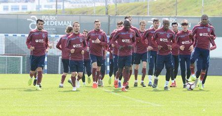 Trabzonspor, Fenerbahçe maçı hazırlıklarını sürdürdü