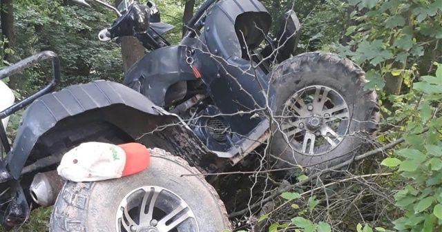 65 yaşındaki adam ATV altında kalarak hayatını kaybetti