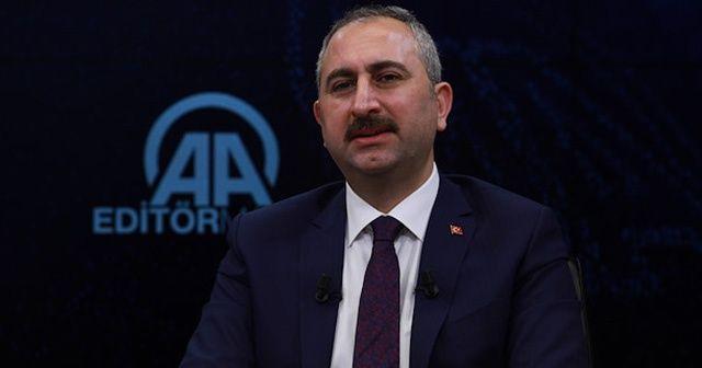 Adalet Bakanı Gül'den Yargı Reformu Stratejisi açıklaması