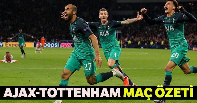 Ajax Tottenham 2-3 Maç ÖZETİ ve GOLLERİ İzle | Yok Böyle Bir Maç! AJAX 2 Tottenham 3 Maçın Geniş Özeti ve Golleri İZLE