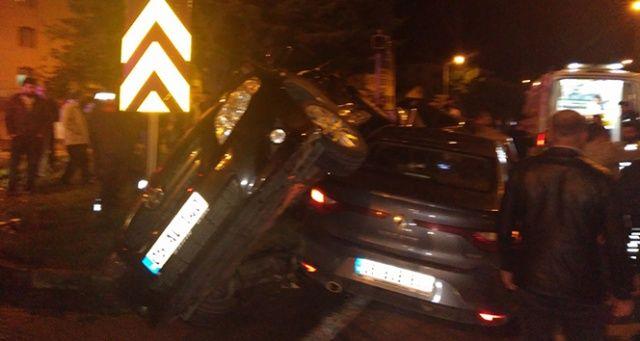Amasya'da trafik kazası: 4 yaralı