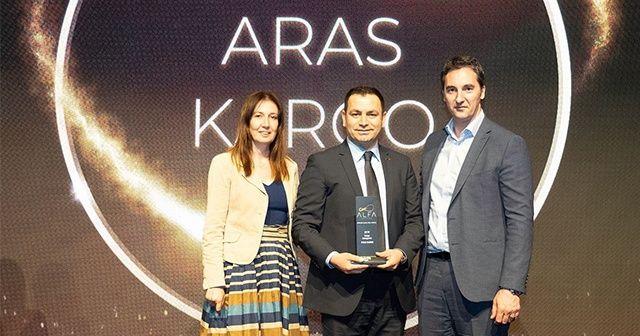 Aras Kargo'ya A.L.F.A. Awards'dan üst üste ikinci ödül