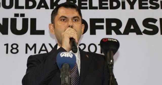 Bakan Kurum: 'Ülkemiz daha güzel olacak inşallah'