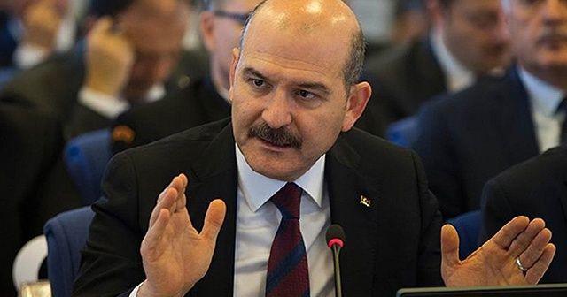 """Bakan Soylu: """"Hain PKK ile ilgili ne varsa tek tek temizliyoruz"""""""