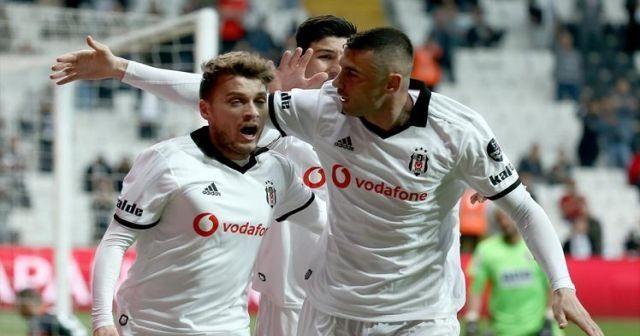 Beşiktaş Alanyaspor'u 2-1 mağlup etti