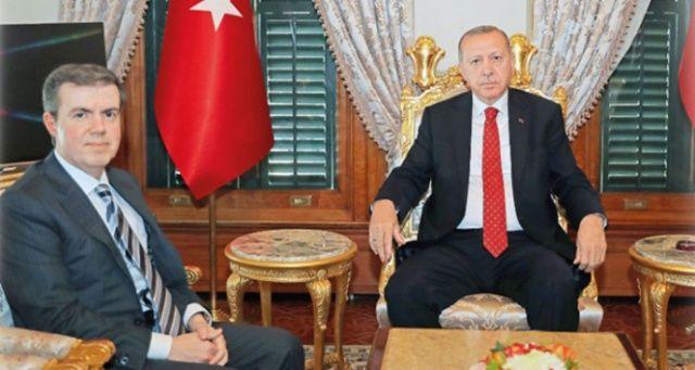 Cumhurbaşkanı Erdoğan, A. Mücahid Ören'i kabul etti