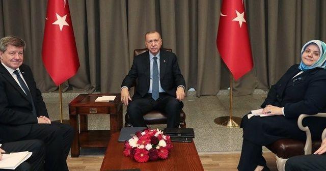 Cumhurbaşkanı Erdoğan, Guy Ryder ile görüştü