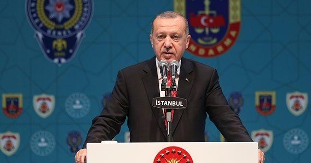 Cumhurbaşkanı Erdoğan: Katil sürülerinden döktükleri her damla kanın hesabını misliyle sorduk