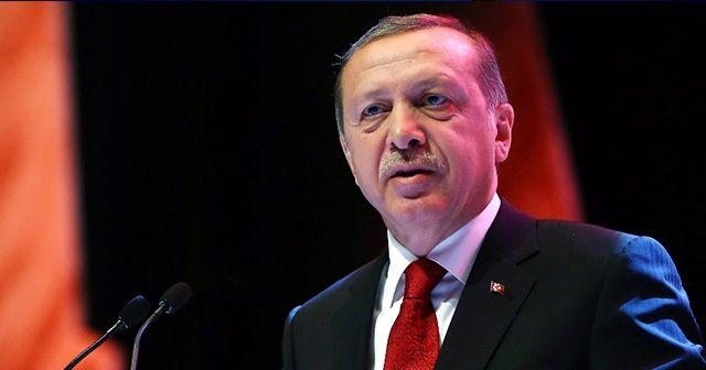 Cumhurbaşkanı Erdoğan Mabeyn Köşkü'ne geldi