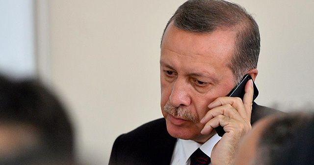 Cumhurbaşkanı Erdoğan, Ordu'daki heyelan hakkında bilgi aldı