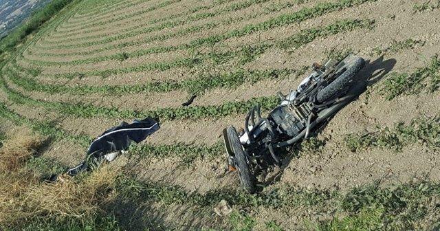 Denizli'de 2 motosiklet çarpıştı: 1 ölü, 3 yaralı