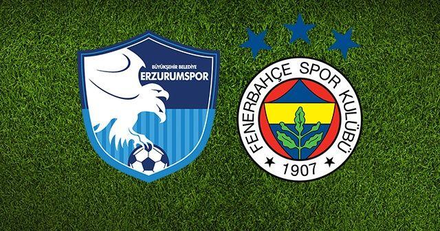Erzurumspor Fenerbahçe maçı canlı izle! Erzurumspor Fenerbahçe maçı canlı skor kaç kaç? Erzurum FB şifresiz canlı izle